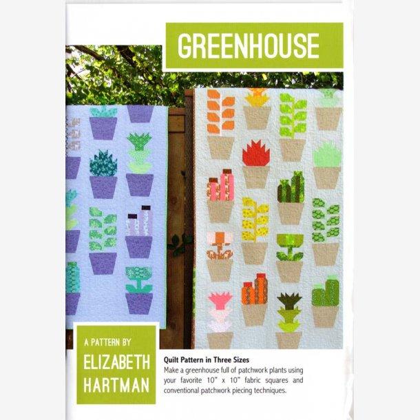Greenhouse - mønster til 3 størrelser