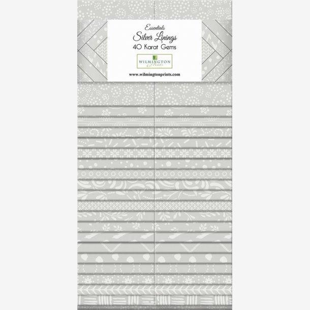 Silver Linings - 40 karat Gems
