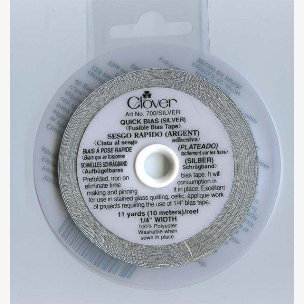 Sølv Bias Tape