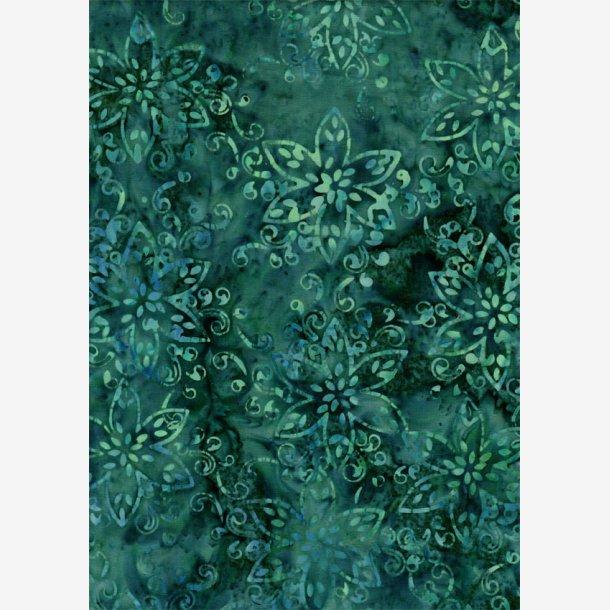 Blågrønne tone-i-tone blomster