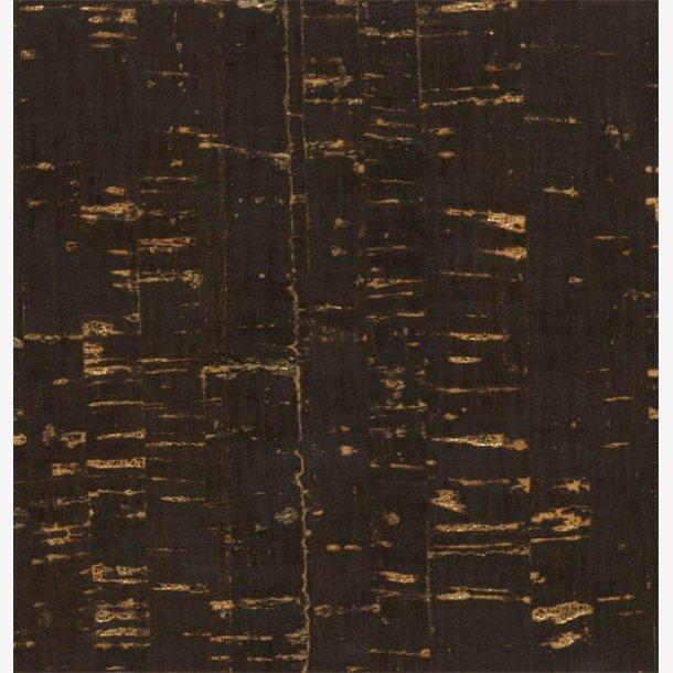 Kork - sort med guldeffekt