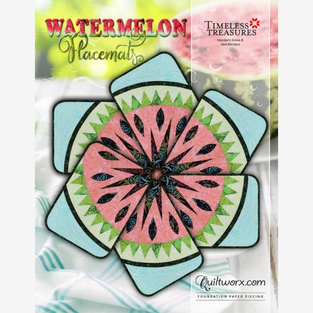 Watermelon - dækkeservietter