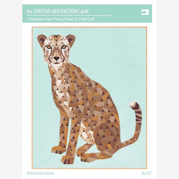 The Cheetah Abstrations Quilt