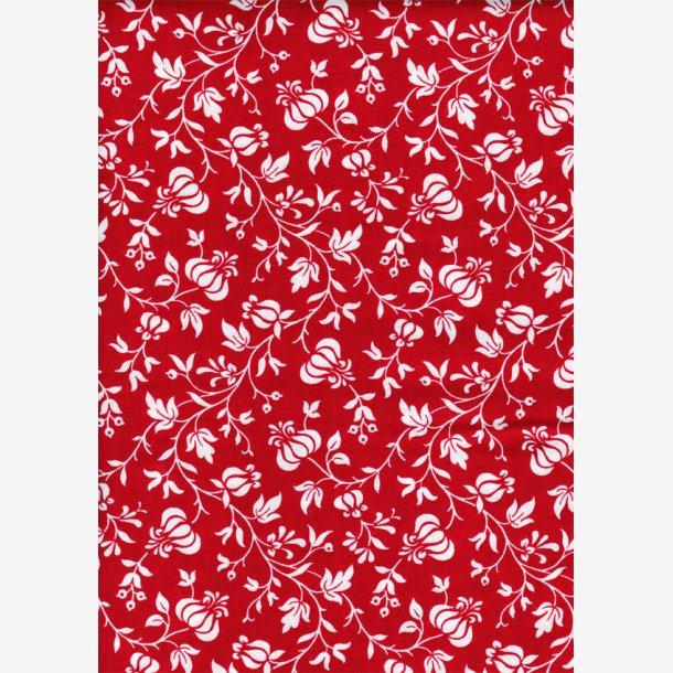 Rød 'Vine Floral'