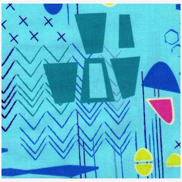 Modern Marks - Lys blå