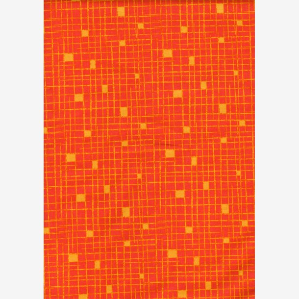 Crosshatch - Orange