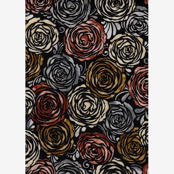 Roser på sort