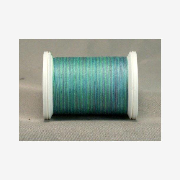 Maskinquiltetråd - lys turkisblå nuancer