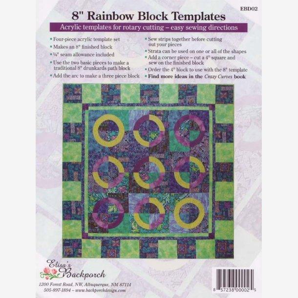 Rainbow Block skabeloner