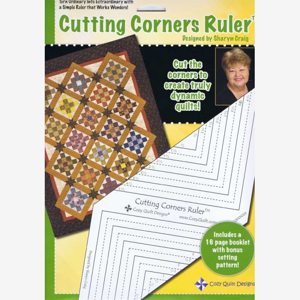 Cutting Corners Ruler with Booklet