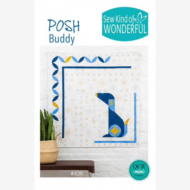 "Posh Buddy (50"" x 50"" - ca. 125 cm x 125 cm)"