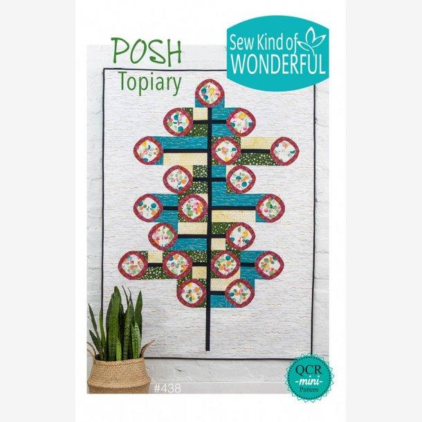 "Posh Topiary (50"" x 70"" - ca. 125 x 175 cm)"