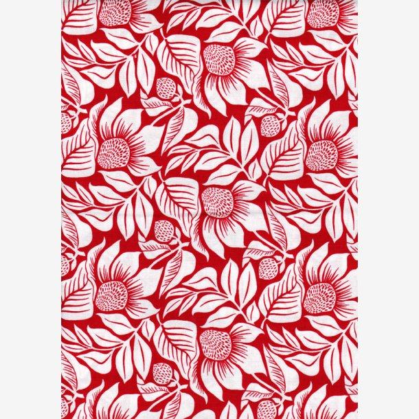 Rød 'Large Floral'