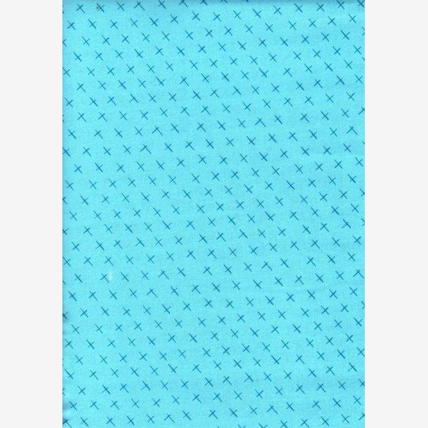 Crossmarks - Turkisblå