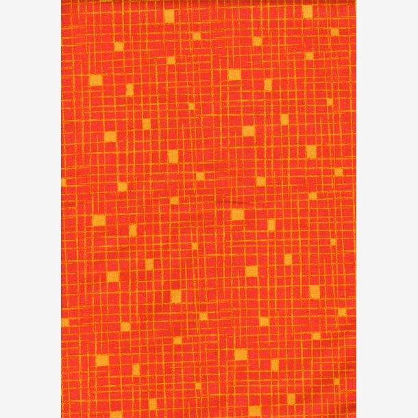 Crosshatch - Orange