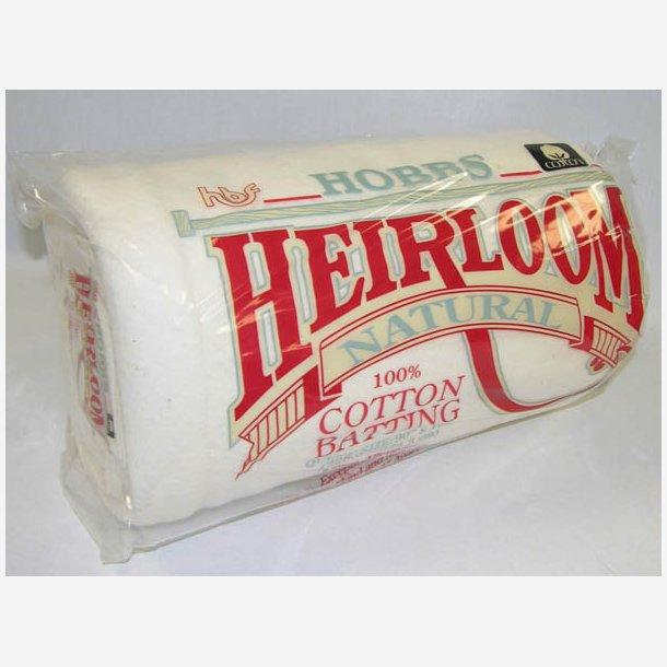 100 % Bomuld mellemfoer Heirloom (228 cm x 274 cm)